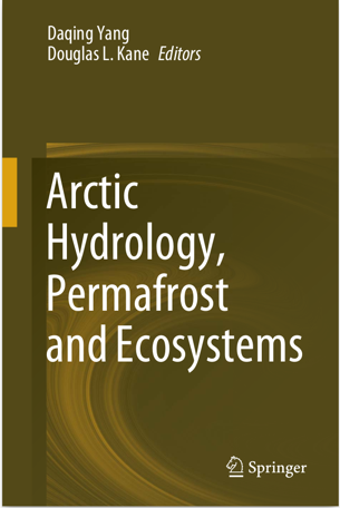 The cover of Arctic Hydrology, Permafrost and Ecosystems by Yang, D et al, 2021.